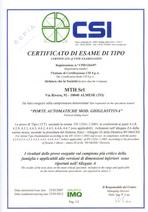 Certyfikat na zamki 5000 i 7000